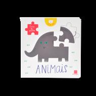LIVRO DE PUZZLES - ANIMAIS